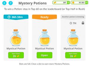 Mystical Potions - Three