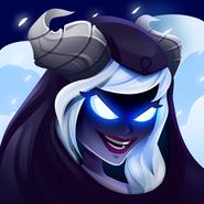 Fantasy portal dark sorceress