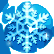 Winter ice crystal hi