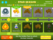 Star Season - Prize Ranks (First Page)