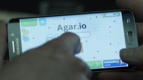 House of Cards - Frank Underwood plays Agar