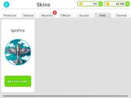 Skin Shop - Spitfire