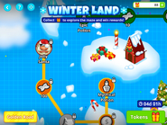 Winter-land-jolly-santa-on-the-map