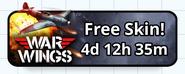 War Wings - Free Skin!