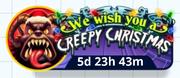Creepy Christmas - Button