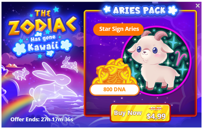 The Zodiac Has Gone Kawaii - Aries Pack