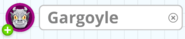 Cell Name Box - Gargoyle