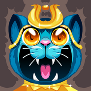 Egypt egyptian cat hi