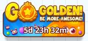 Go Golden - Button
