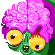 Zombie party crazy brain hi