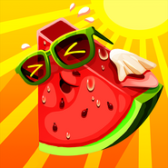 Red hot watermelon