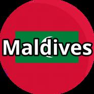 Maldives - Circled
