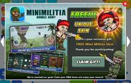 MiniMilitia - Claim Gift! (HQ)