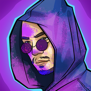Purple hacker