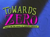 Towards Zero (Agatha Christie's Marple episode)
