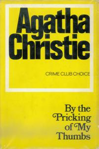 By the Pricking of my Thumbs First Edition Cover 1968.jpg