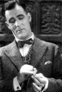 Trevor as Poirot