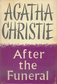 After the Funeral First Edition Cover 1953.jpg