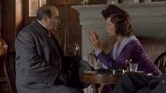Katherine Cloade and Hercule Poirot