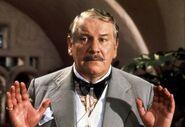 Ustinov as Poirot