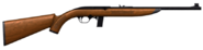 Semi auto rifle 22 wood