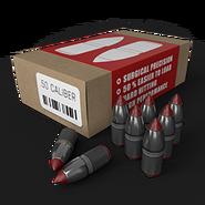 Muzzleloader pistol ammo