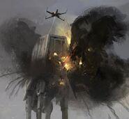 Star-Wars-Rogue-One-Concept-Art-Matt-Allsopp-10-Scarif-X-Wing-AT-AT