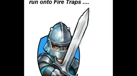 Infantry and Fire Traps