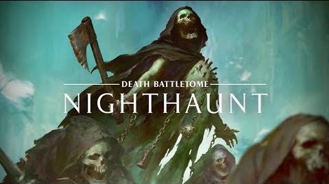 Warhammer Age of Sigmar - Battletome Nighthaunt - In Stores Now
