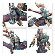 Akhelian Morrsarr Guard miniatures 02