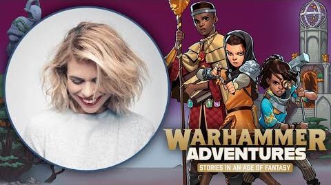 Billie Piper Warhammer Adventures Interview
