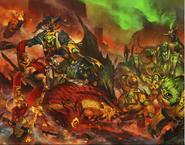 Ironjaw warclans attack dwarfs