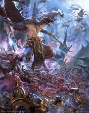 Disciples of Tzeentch battletome cover art.jpg