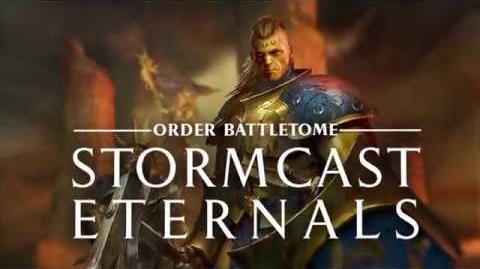 Warhammer Age of Sigmar - Battletome Stormcast Eternals - In Stores Now