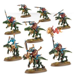 Saurus Knights minitures