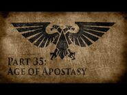 Warhammer 40,000- Grim Dark Lore Part 35 – Age of Apostasy