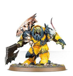 Megaboss Ironjawz Orruks Miniature