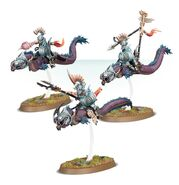 Akhelian Morrsarr Guard miniatures 01