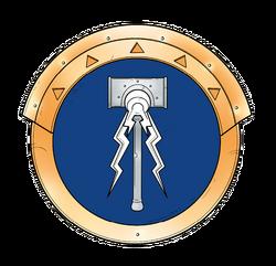 Prosecutor shield Hallowed Knights Scheme.png