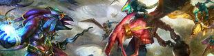 Terradons and Ripperdactyls vs Tzeentch 01