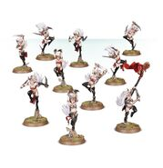 Witch Aelves miniatures 01