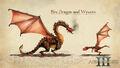 Art Fire Dragon