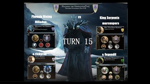 AoW3 2016 PBEM 2vs2 Tournament - Round 2 - Phoenix Rising vs King Serpents - turn 15 (commented)