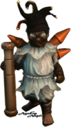 Halfling Jester (from screenshot) by AgnessAngel