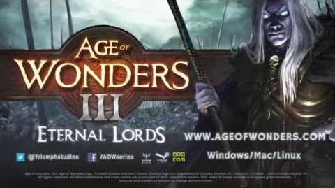 Age of Wonders III Eternal Lords Expansion - Trailer