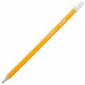 Karandash grafitovyy hb zheltyy s rezinkoy BM.8500 40017011