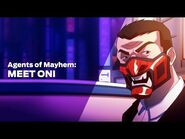 Agents of Mayhem- Meet Oni
