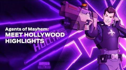 Agents of Mayhem- Meet Hollywood Highlights