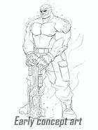 Agents of Mayhem Yeti Concept 4
