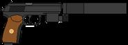 Пистолет Орёл (РИ) глушитель ЛЦУ